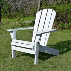 Grab that book you can't put down and a favorite beverage and sink into the Northbeam Faux Wood Relaxed Adirondack Chair for some you-time. Outdoor Lounge Furniture, Rustic Furniture, Outdoor Chairs, Outdoor Decor, Outdoor Living, Patio Chairs, Pallet Furniture, Luxury Furniture, Wood Adirondack Chairs