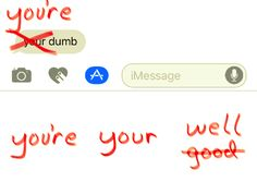 Grammar Snob stickers for iMessage are ready to ruin your friendships