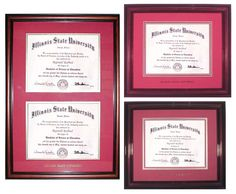 Alumni: Show off your degree by displaying your Illinois State diploma in a stylish frame. Proceeds from your purchase assist Student Alumni Council in funding their programs and events, including Sibling Weekend, Future Alumni Leaders Ceremony, and the Legacy Scholarship.    http://alumni.illinoisstate.edu/extras/buystuff/index.shtml