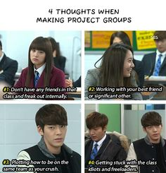 From my favorite drama. the most relatable Heirs Korean Drama, Korean Drama Funny, Korean Drama Quotes, The Heirs, Korean Dramas, Kdrama Memes, Funny Kpop Memes, K Pop, W Two Worlds