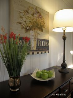 Home Staging ~ Dining Rooms  Make sure to add visual interest to your tables and buffets by adding colorful accessories to draw the eye to different spaces around the room
