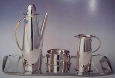 Archibald Knox coffee set for liberty & Co