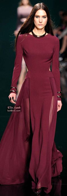 Elie Saab Fall 2014 RTW (obsessed with everything Elie Saab)