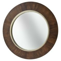 Wall Mirror Target brown/natural wall mirror - contemporary - mirrors - target | home