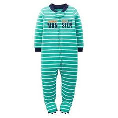 Just One You™Made by Carter's® Newborn Boys' Monster Sleep N' Play - Green Baby Boy Pajamas, Target Baby, Little Gentleman, Newborn Boys, Future Baby, Baby Love, Boy Outfits, Maternity, Pajama Pants