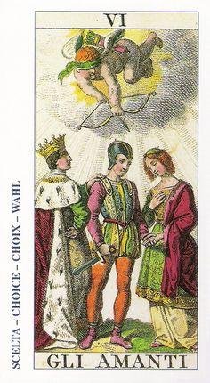 06-Cartas de Tarot - Los Enamorados-Tarot, Astrología, Horóscopos, Metirta