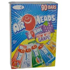 Airheads Chewy Fruit Candy Variety Pack (Pack Of 18) (2 Units Per Order) Airheads http://www.amazon.com/dp/B01762GD2I/ref=cm_sw_r_pi_dp_KEqowb0R5796F