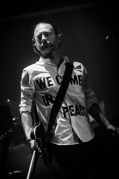 "Thom Yorke is not of this world... This explains ""Subterranean Homesick Alien""..."