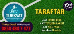 Digiturk Turksat uydu sistemi üzerinden izleyebileceğiniz Ulusal Kanallar + Lig Tv Taraftar Paketi 4 Ay 29,99 TL sonra 41,99 TL'ye Digiturk Lig Tv'ye abone olabilirsiniz.
