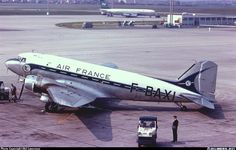 Ready to start engines - Photo taken at Paris - Orly (ORY / LFPO) in France in May, 1962.