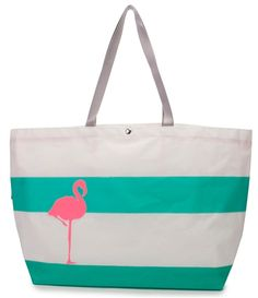 """FLAMINGO """"Ditty"""" TOTE from Hayden Reis"""