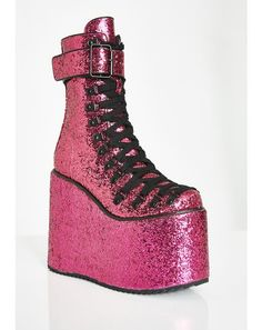 1e0c477131d Sparkle Pony Platform Boots  dollskill  clubexx  platform  boots ...
