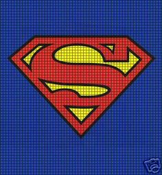Superman Logo Crochet Pattern