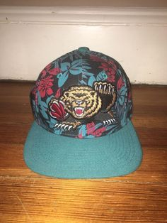 (ebay link) Vancouver Grizzlies Floral Snapback New Era Hat  fashion   clothing   24eee47f6f5b