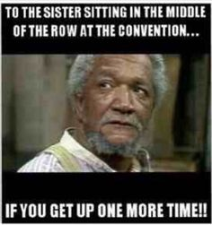 that was me sitting in the middle. I felt so sorry for the brothers and sisters having to get up all the time ...and thete i go again with my four boys :/#jw #funny