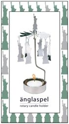 Statue of Liberty Rotary Candle Holders from Pluto Produkter, Sweden now in the sale at Northlight Homestore