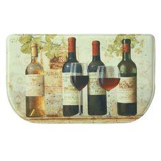 Bacova Standsoft Wine Tasting Memory Foam Indoor Kitchen Mat - 78776E