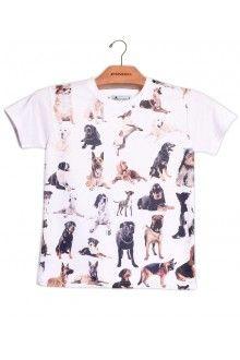 Comprar Camiseta Infantil Unissex Matilha