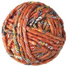 paper yarn - zero impact global art by ivano vitali Loom Crochet, Freeform Crochet, Recycle Newspaper, Giant Knitting, Paper Balls, Paper Magic, African Jewelry, Global Art, Loom Weaving