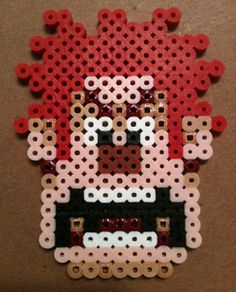 Wreck it Ralph bead art, perfect craft for pre outdoor movie fun! - A unique movie night theming idea from Southern Outdoor Cinema