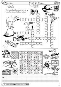Crucigrama y sopa Dr