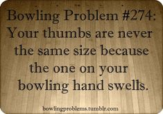 Not just the thumbs. Have to take rings off bowling finger 'cause they swell too much.