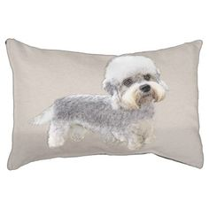 #Dandie Dinmont Terrier Pet Bed - #dogbeds #dogbed #puppy #dog #dogs #pet #pets #cute #doggie