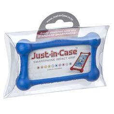 Just-in-Case Smartphone Impact Grip - Cobalt Blue