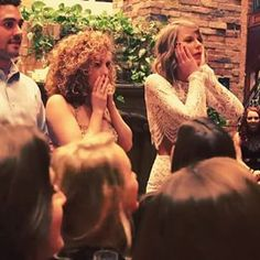 Then asking if anyone named Chris Carrabba happened to be at the party. (Chris is the lead singer of Dashboard Confessional.) | Taylor Swift Surprised Her Best Friend With A Dashboard Confessional Concert