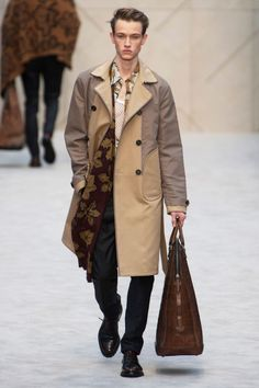 FALL 2014 MENSWEAR BURBERRY PRORSUM COLLECTION