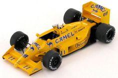 MINICHAMPS 1//43 MODELLINO AUTO F1 AYRTON SENNA LOTUS 99T GP ITALIA 1987 DIE CAST