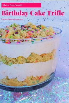 Turn a regular birthday cake into a fabulously creamy Funfetti Birthday Cake Trifle! Trifles are one of my favorite desserts to create. I love how easy and fun they are to construct and how pretty they are in the end. My grand-daughter just turned 2 years old and I, (a.k.a. Grandma Linda), wanted to create …