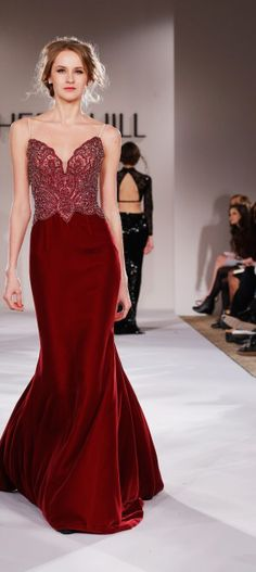 NY: Sherri Hill - Runway - Mercedes-Benz Fashion Week Fall 2015