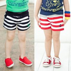 Aliexpress.com : Buy 2014 summer stripe boys clothing girls clothing baby child shorts kz 0866 on Kids Fashion Clothing - Worldwide Wholesal...