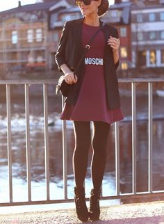 Moschino for fall // http://www.pinterest.com/AnnaEEvents/boards/