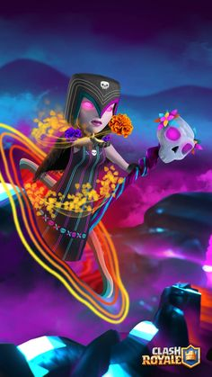 Día de muertos Clash Royale Wallpaper Coc, Abstract Iphone Wallpaper, Clash Of Clans Logo, Girls Frontline, Epic Games, Star Art, Barbarian, Game Character, Game Art