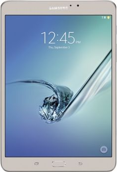 "Samsung - Galaxy Tab S2 - 8"" - 32GB - Gold - Front Zoom"
