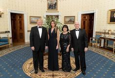 GREAT PHOTO OF OUR PRESIDENT, FIRST LADY, VICE PRESIDENT AND SECOND LADY! Such an amazing group leading our country into a brighter future❤