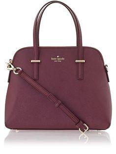 544fa9cd1ac74a Kate Spade maroon bag Kate Spade Handbags, Fall Handbags, Handbags Michael  Kors, Purses