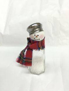 Amazon.com: Salt & Pepper Shaker Snowman: Handmade