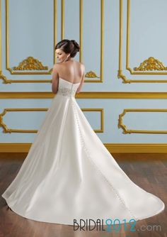 Pick up Mori Lee 4916 Wedding Dresses Price, All Cheap In Bridal2012.com  $278.40