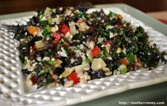 : Salads : Green & Slaws on Pinterest | Kale Salads, Spinach Salads ...