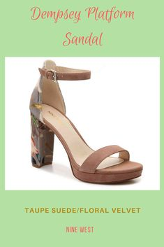 df93e08f0190 Dempsey Platform Sandal Accentuate your style with the stunning Dempsey  platform from Nine West. This