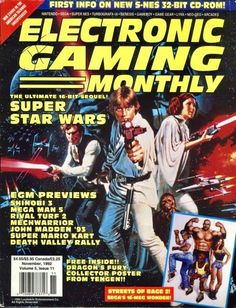 #90sVideoGames 90s Video Games, Vintage Video Games, Classic Video Games, Video Game News, News Games, Mega Man 5, Castlevania Games, Video Game Magazines, Gaming Magazines