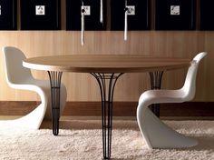 Mesa redonda de madera ARTÙ | Mesa redonda - Esedra by Prospettive
