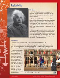 Get your students excited about Einstein and his Theory of Relativity with this leveled text written at four different reading levels! #leveledtext #einstein #science #energy Reading level: 2.2-6.5