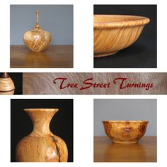 Tree Street Turnings' Mark Bowman turns wood into salad bowls, vases, urns and decorative items. Visit at http://www.treestreetturnings.com/index.html ; on Etsy at http://www.etsy.com/shop/TreeStreetTurnings?ref=ss_profile ;and follow on facebook https://www.facebook.com/pages/Tree-Street-Turnings/174907985938650?ref=hl