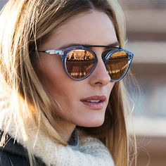 For her encore collection with Westward Leaning, Olivia has created a stunning collection of eight sunglass styles all featuring WWL's beloved mirrored rose gold lens. Showcasing gorgeous variation...