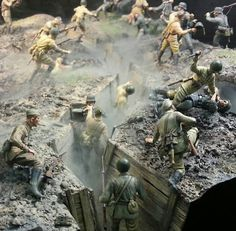 Hand-to-hand on the Eastern Front, 1:35 DIORAMA unknown artist