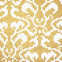 #Bisazza #Decori 2x2 cm Damasco Oro Giallo   Gold auf Glass   im Angebot auf #bad39.de 1728 Euro/Pckg.   #Mosaik #Bad #Küche